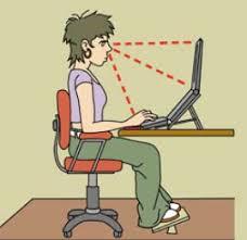 Riscos específics del lloc de treball pantalles visualització dades